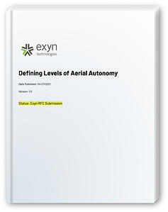 Levels of Aerial Autonomy White Paper Cover