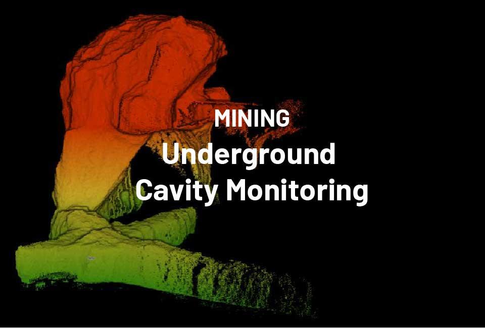 Mining Underground Cavity Monitoring
