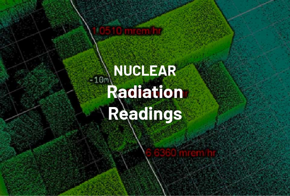 nuclear radiation readings
